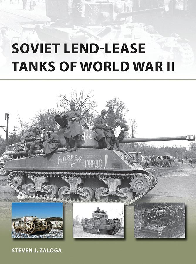 Soviet Lend-lease Tanks Of World War Ii Box Front