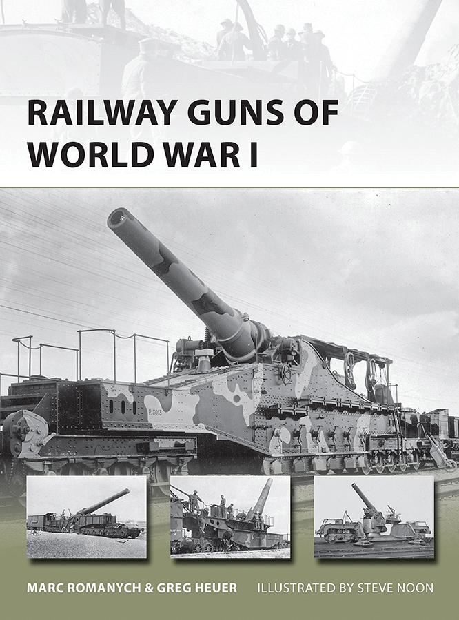 Railway Guns Of World War I Box Front