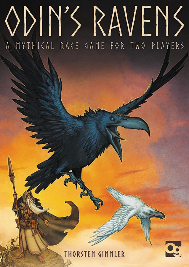 Odin`s Ravens: A Mythical Race Game Box Front
