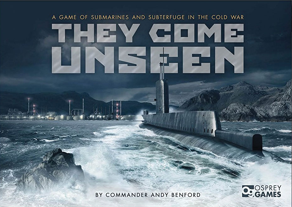 They Come Unseen Box Front