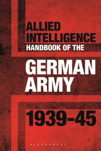 Allied Intelligence Handbook To The German Army 1939-45 Box Front