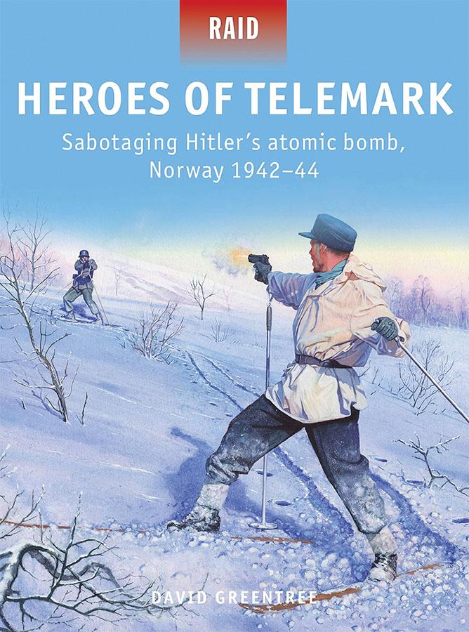 Heroes Of Telemark: Sabotaging Hitler`s Atomic Bomb, Norway 1942-44 Game Box