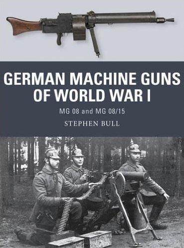 German Machine Guns Of World War I: Mg 08 And Mg 08/15 Box Front