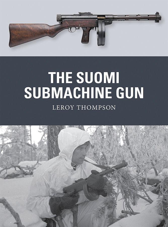 Suomi Submachine Gun Box Front