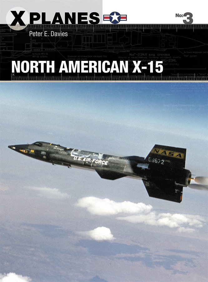 North American X-15 Box Front