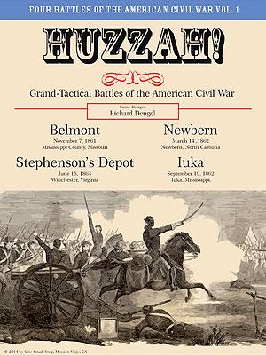 Masters Huzzah! Four Battles Of The American Civil War Volume 1 Box Front