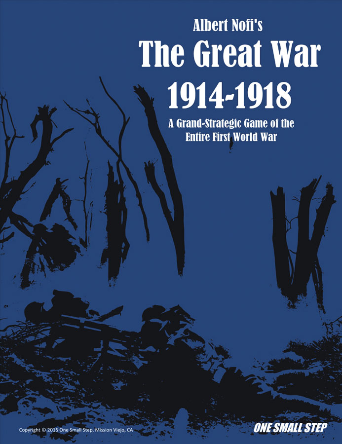 Albert Nofi`s The Great War: 1914 - 1918 Box Front
