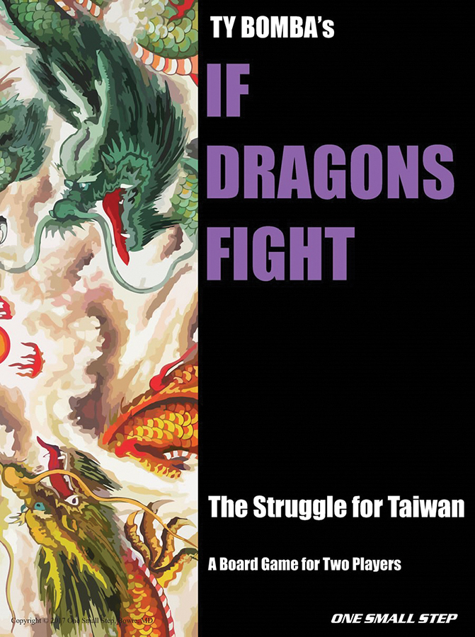If Dragons Fight: China Vs. Taiwan In The Near Future Box Front