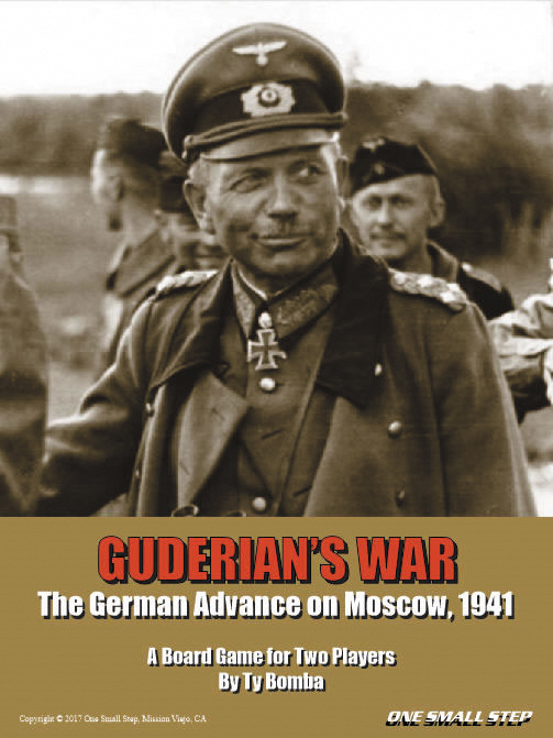 Guderian`s War: The German Advance On Moscow 1941 Box Front