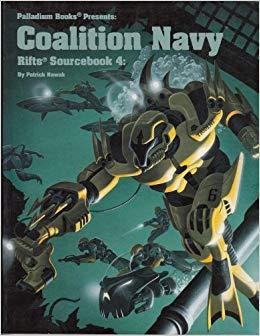 Rifts Rpg: Sourcebook 4 Coalition Navy