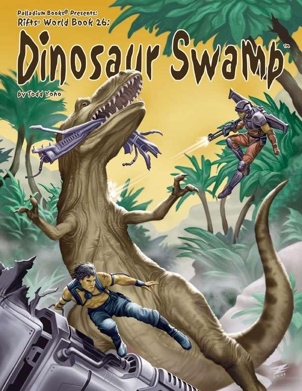 Rifts Rpg: World Book 26 Dinosaur Swamp