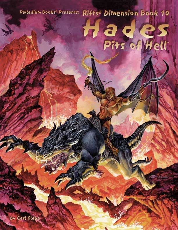 Rifts Rpg: Dimension Book 10 Hades, Pits Of Hell