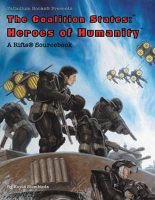 Rifts Rpg: Coalition States: Heroes Of Humanity Box Front