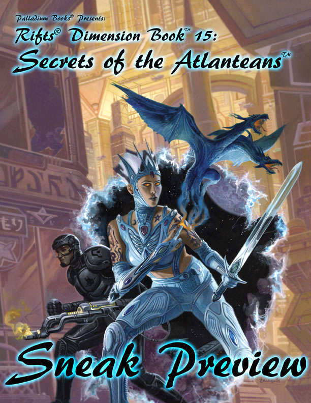 Rifts Rpg: Secrets Of The Atlanteans Box Front