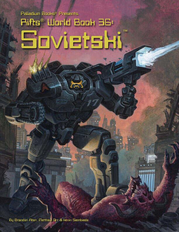 Rifts Rpg: Sovietski World Book