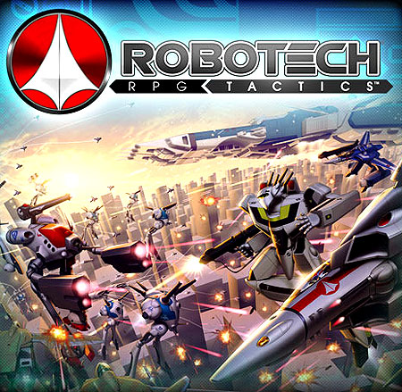 Robotech Rpg Tactics: Main Boxed Game Box Front