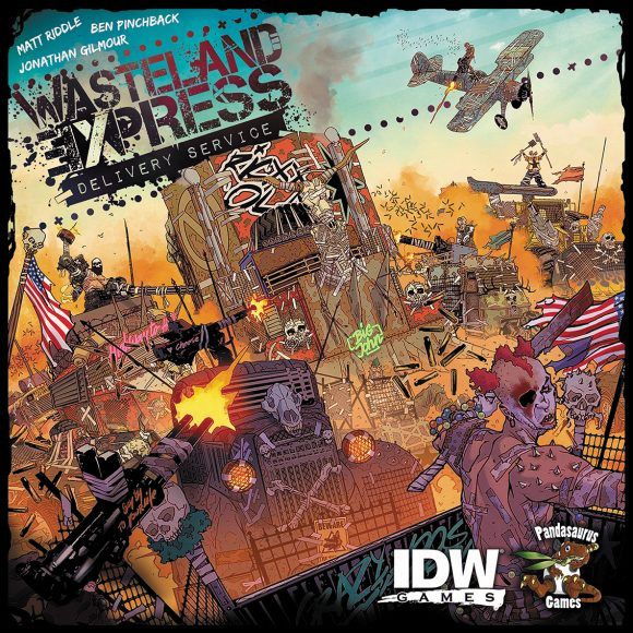 Wasteland Express Delivery Service Box Front