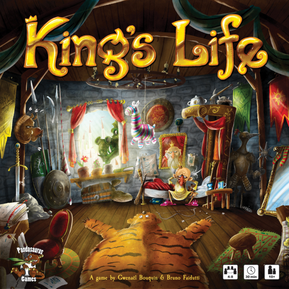 King`s Life Box Front