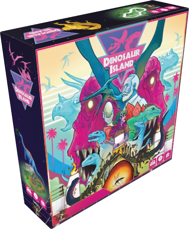 Dinosaur Island Box Front