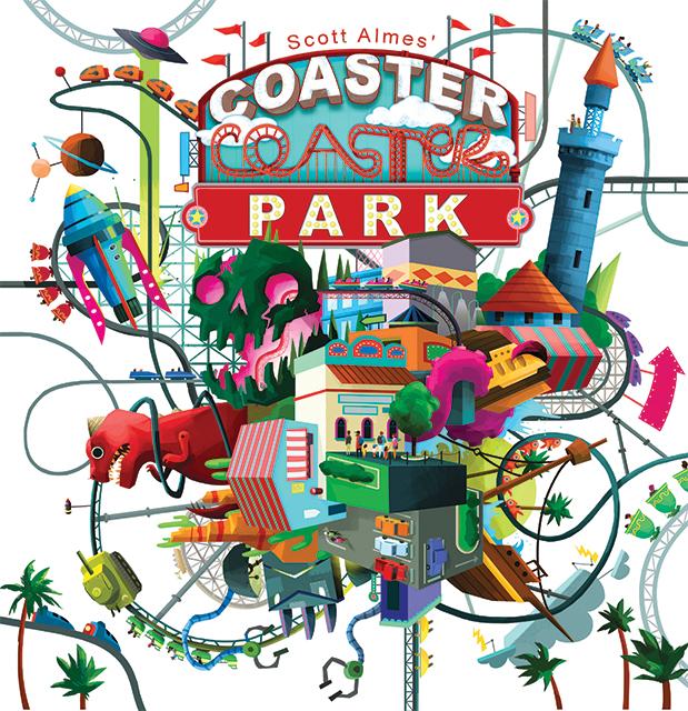Coaster Park Box Front