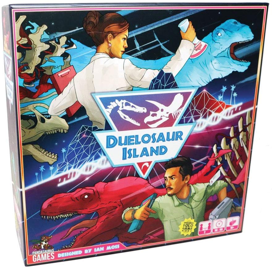 Duelosaur Island Game Box
