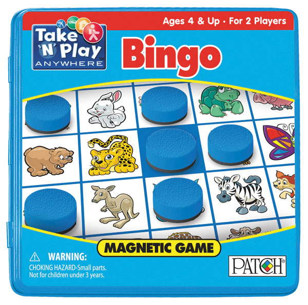 Take N Play Anywhere: Bingo Box Front
