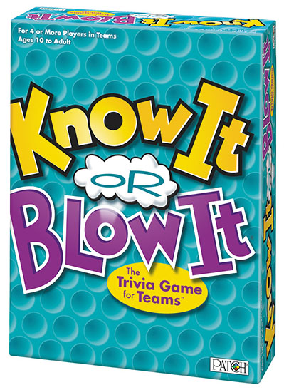 Know It Or Blow It Box Front