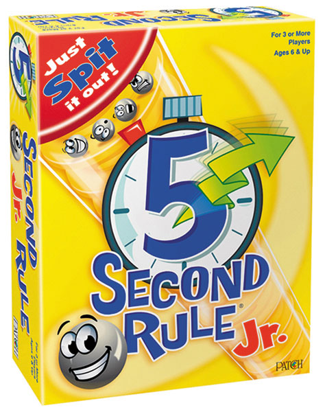 5 Second Rule Junior Box Front