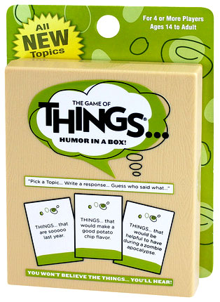 Game Of Things Card Game Box Front