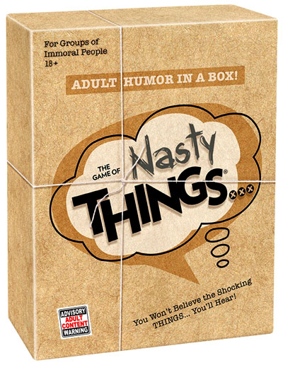 Nasty Things Box Front