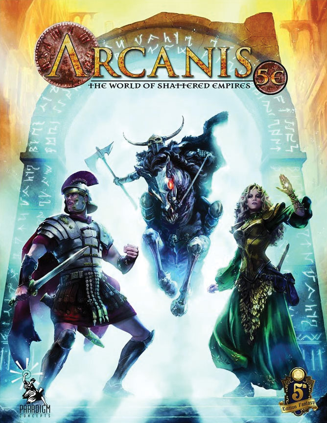 Arcanis 5e Campaign Setting Game Box