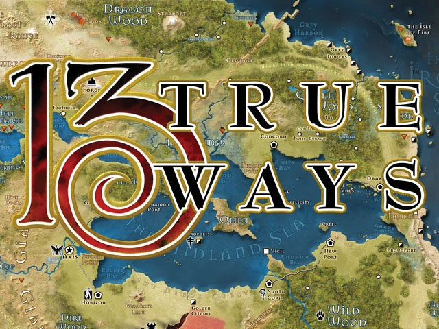 13th Age Rpg: True Ways Hardcover Box Front