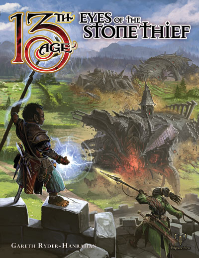 13th Age Rpg: Eyes Of The Stone Thief Hardcover Box Front