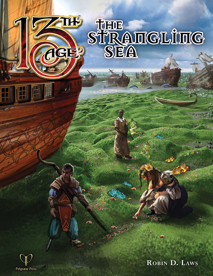 13th Age Rpg: The Strangling Sea Box Front