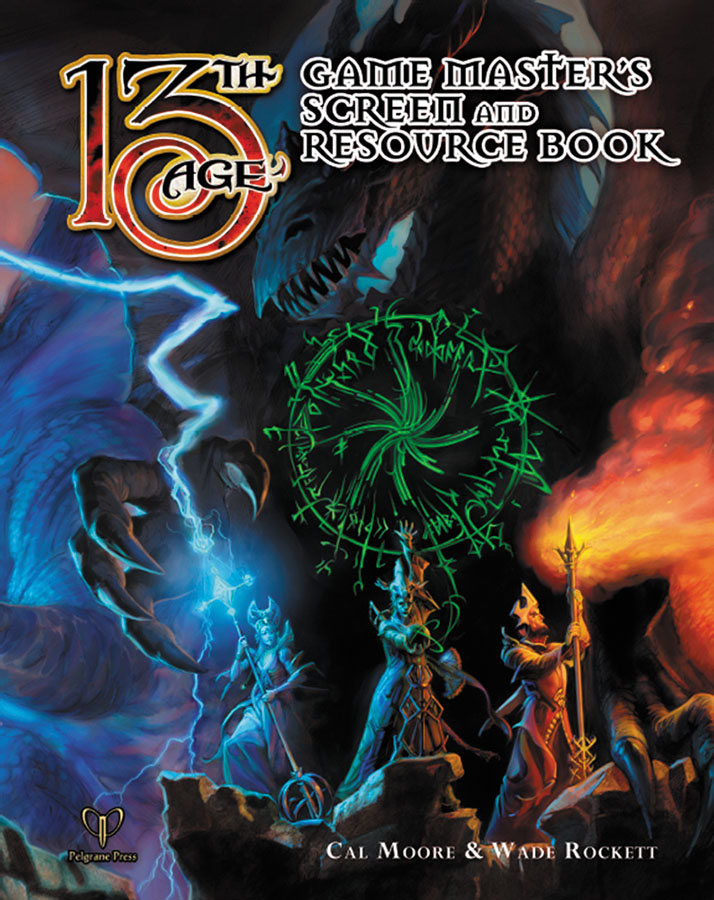 13th Age Rpg: Gm Screen And Resource Book Box Front