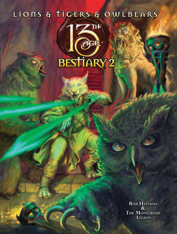 13th Age Rpg: Bestiary 2 Hc Box Front