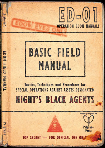 Night`s Black Agents Rpg: The Edom Field Manual Box Front
