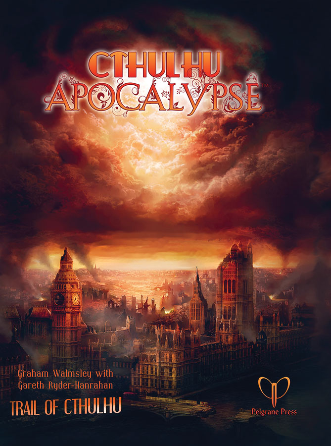 Trail Of Cthulhu Rpg: Cthulhu Apocalypse Hardcover Box Front