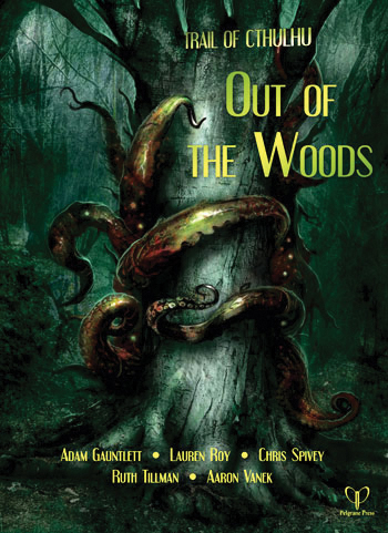 Trail Of Cthulhu Rpg: Out Of The Woods Box Front