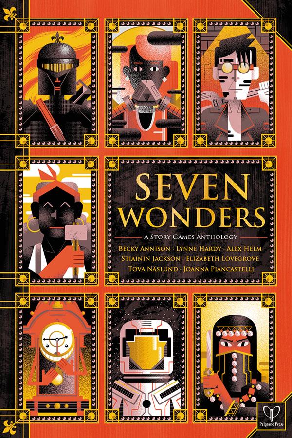 7 Storyteller Rpg: Seven Wonders Box Front