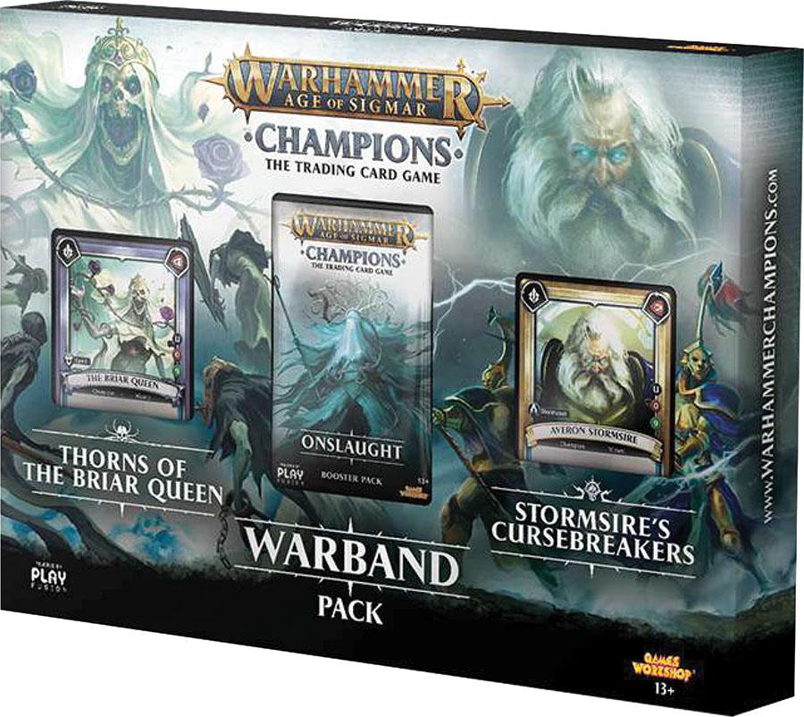 Warhammer: Age Of Sigmar Champions Tcg Warband Pack Game Box