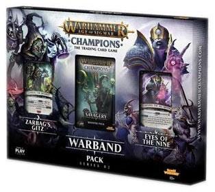 Warhammer: Age Of Sigmar Champions Tcg Warband Pack Series 2 Game Box