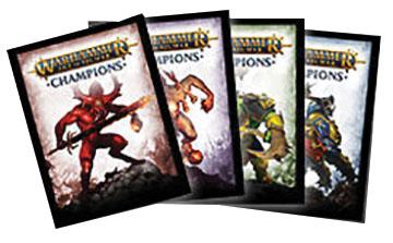 Warhammer: Age Of Sigmar - Champions Destruction Sleeves Game Box