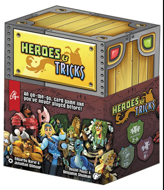 Heroes And Tricks Box Front