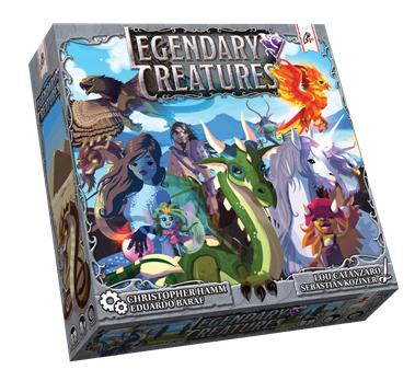 Legendary Creatures Demo Program Box Front