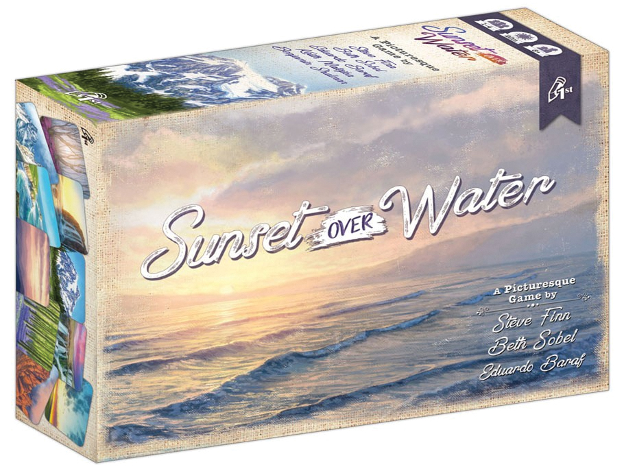 Sunset Over Water Card Game Box Front