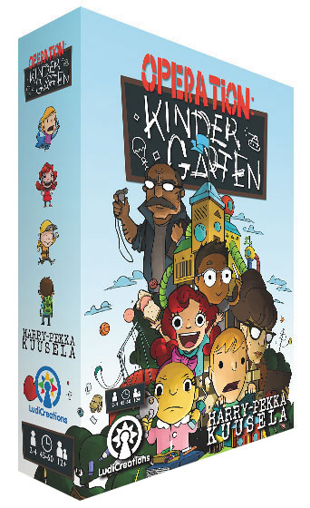 Operation Kindergarten Box Front