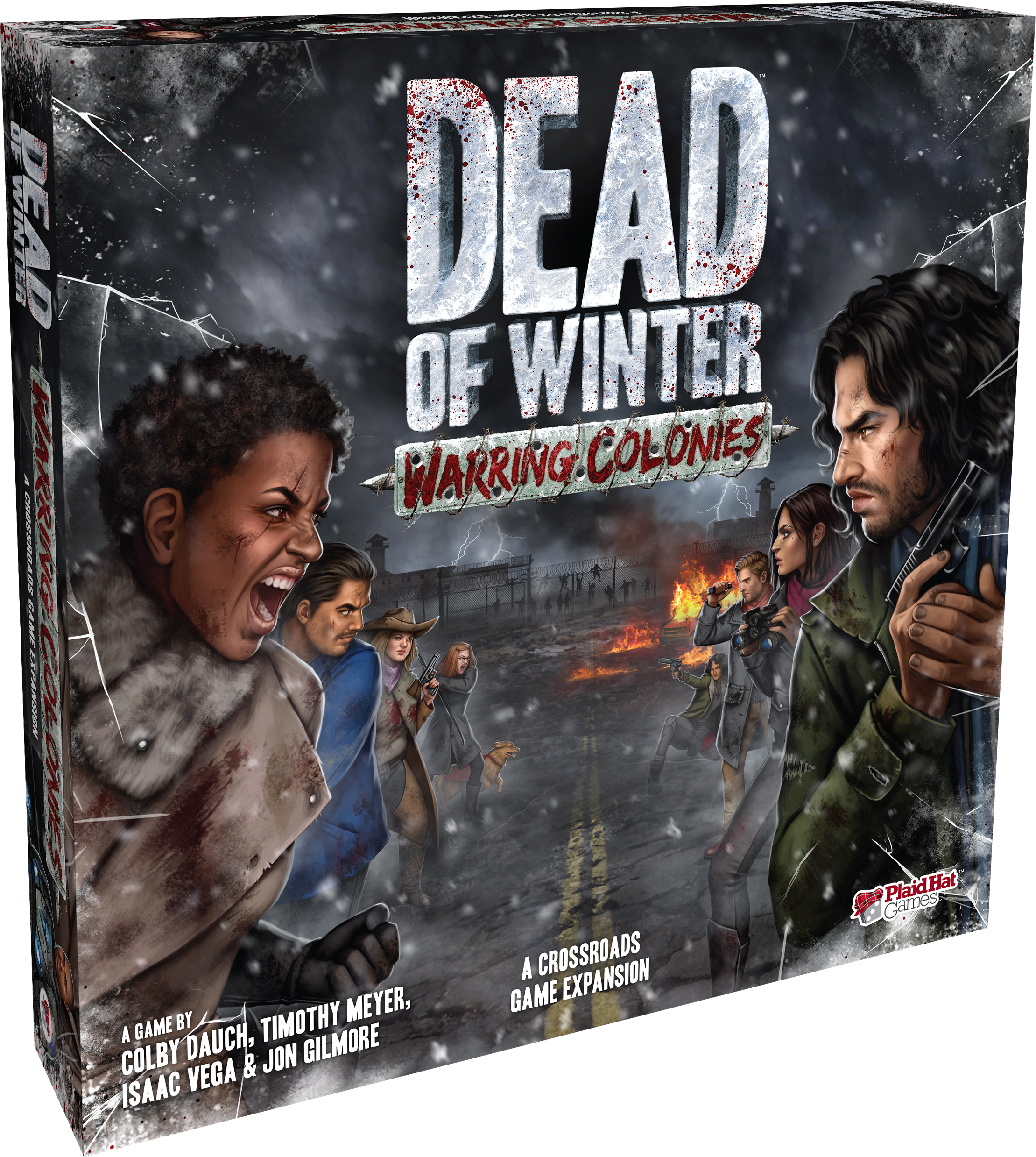 Dead Of Winter: Warring Colonies Expansion Box Front