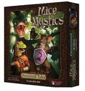 Mice And Mystics: Downwood Tales Expansion Box Front