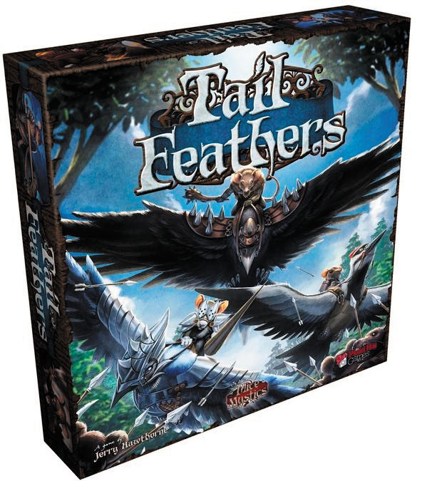 Tail Feathers Box Front